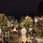 Χριστούγεννα, οι πλατείες της Αθήνας